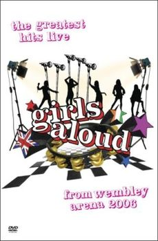 Обложка альбома Girls Aloud «Girls Aloud: The Greatest Hits Live from Wembley Arena» (2006)