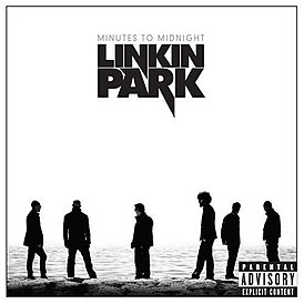 Обложка альбома Linkin Park «Minutes to Midnight» (2007)