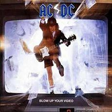 Обложка альбома AC/DC «Blow Up Your Video» (1988)