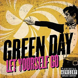 Обложка сингла Green Day «Let Yourself Go» (2012)