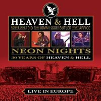 Обложка альбома Heaven & Hell «Neon Nights: 30 Years of Heaven & Hell» (2010)