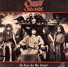 Обложка альбома Ozzy Osbourne «No Rest for the Wicked» (1988)