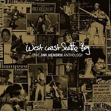 Обложка альбома Jimi Hendrix «West Coast Seattle Boy: The Jimi Hendrix Anthology» (2010)