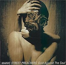 Обложка альбома Manic Street Preachers «Gold Against the Soul» (1993)