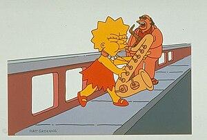 Симпсоны сексофон