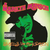 Обложка альбома Marilyn Manson «Smells Like Children» (1995)