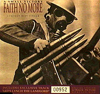 Обложка сингла «A Small Victory» (Faith No More, 1992)
