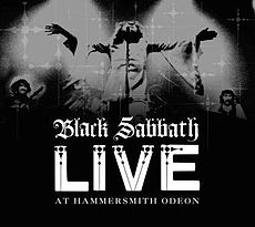 Обложка альбома Black Sabbath «Live at Hammersmith Odeon» (1987)