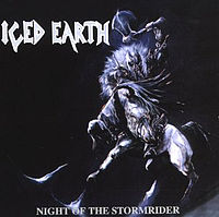 Обложка альбома Iced Earth «Night of the Stormrider» (1992)