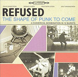 Обложка альбома Refused «The Shape of Punk to Come» (1997)