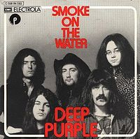 Обложка сингла «Smoke on the Water» (Deep Purple, 1972)