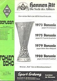 Айнтрахт боруссия 1980