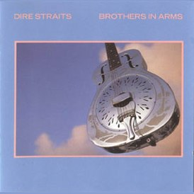 Обложка сингла Dire Straits «Brothers in Arms» (1985)