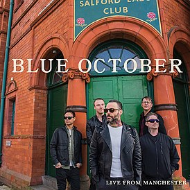 Обложка альбома Blue October «Live From Manchester» (2019)