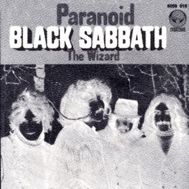 Обложка сингла Black Sabbath «The Wizard» (1970)