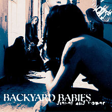 Обложка альбома Backyard Babies «Diesel and Power» (1994)