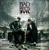 Обложка альбома Bad Meets Evil «Hell: The Sequel» (2011)