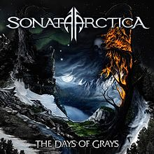 Обложка альбома Sonata Arctica «The Days of Grays» (2009)