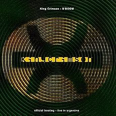 Обложка альбома King Crimson «B'Boom: Live in Argentina» (1995)