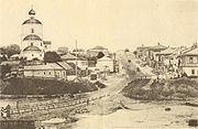 Левобережняя часть города