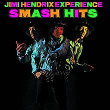 Обложка альбома The Jimi Hendrix Experience «Smash Hits» (1968-1969)