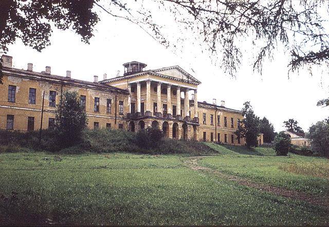 Дворец в Ропше, построенный в правление Екатерины II