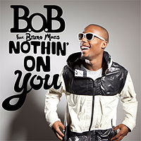 Обложка сингла «Nothin' on You» (B.o.B при участии Бруно Марса, 2010)