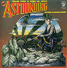 Обложка альбома Hawkwind «Astounding Sounds, Amazing Music» (1976)
