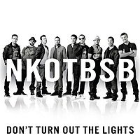 Обложка сингла «Don't Turn Out the Lights» (New Kids on the Block и Backstreet Boys, {{{Год}}})