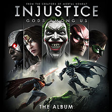 Обложка альбома  «Injustice: Gods Among Us – The Album» (2013)