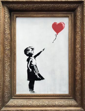 Картинки по запросу Девочка с воздушным шаром (она же «Любовь в мусорном баке»). Бэнкси