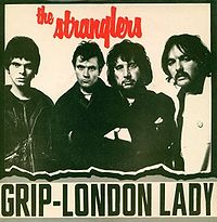Обложка сингла «(Get A) Grip (On Yourself)» (The Stranglers, 1977)