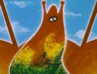Инопланетянин из мультфильма «Контакт»