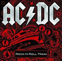 Обложка сингла «Rock 'N' Roll Train» (AC/DC, 2008)