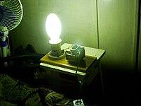 Патрон у этих ламп больше чем у обычных (так сделано специально).  Включать эти лампы в сеть 220 вольт напрямую...