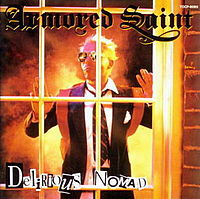 Обложка альбома Armored Saint «Delirious Nomad» (1985)