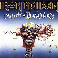Обложка сингла «Can I Play With Madness» (Iron Maiden, 1988)