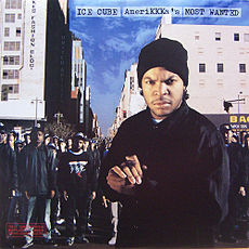 Обложка альбома Ice Cube «AmeriKKKa's Most Wanted» (1990)