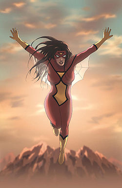 Spider-Woman Origin Vol 1 1 Textless.jpg