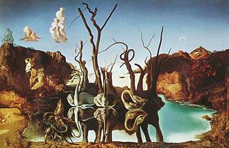 Swans Reflecting Elephants (1937).jpg