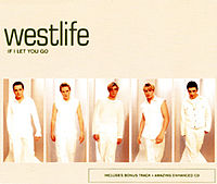 Обложка сингла «If I Let You Go» (Westlife, 1999)
