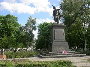 Мемориальный комплекс с арками и колонной Новошахтинск памятники под заказ Кисловодск