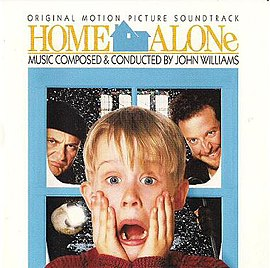 Обложка альбома Джона Уильямса «Home Alone: Original Motion Picture Soundtrack» (1990)