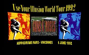 use your illusion tour � Википедия