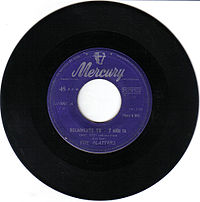 Обложка сингла «Only You (And You Alone)» (The Platters,1955)