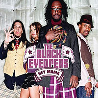 Обложка сингла «Hey Mama» (The Black Eyed Peas, 2004)