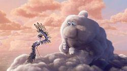 Мультфильма переменная облачность