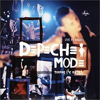 Обложка альбома Depeche Mode «Touring the Angel: Live in Milan» (2006)