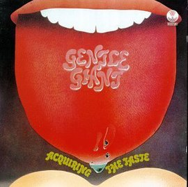 Обложка альбома Gentle Giant «Acquiring the Taste» (1971)