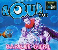 Обложка сингла barbie girl aqua 1997